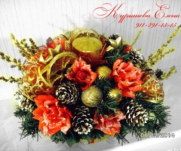 Новогодние композиции. Фото 1. Санкт-Петербург.