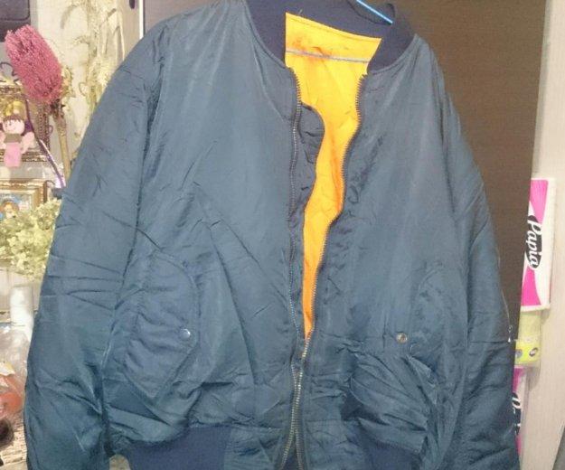 Куртка пилот из 90-х. притягивает хамов. Фото 1. Москва.
