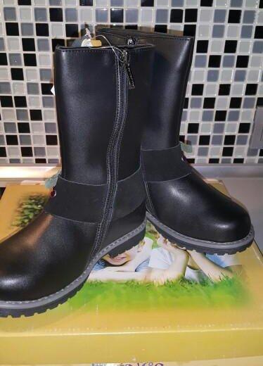 Новые кожаные сапоги. Фото 2. Люберцы.