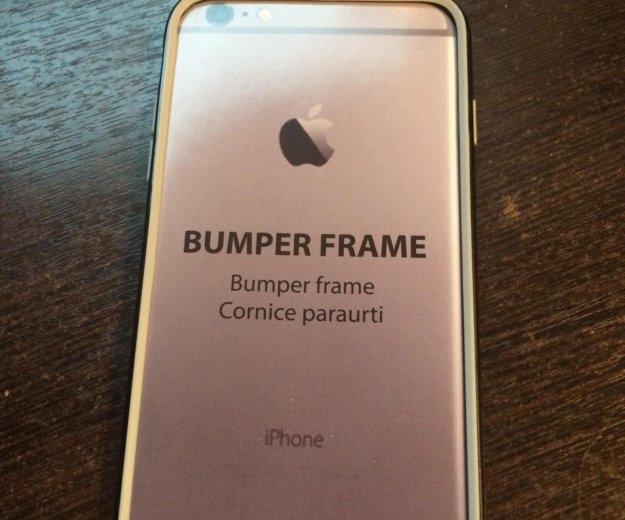 Бампер iphone 6 plus 5.5. Фото 1. Москва.