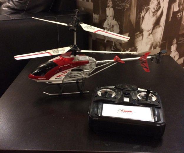 Радиоуправляемая игрушка, вертолет. Фото 1. Смоленск.