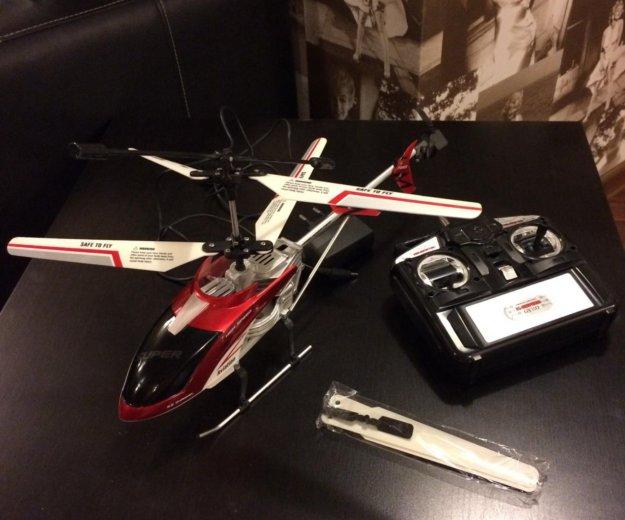 Радиоуправляемая игрушка, вертолет. Фото 3. Смоленск.