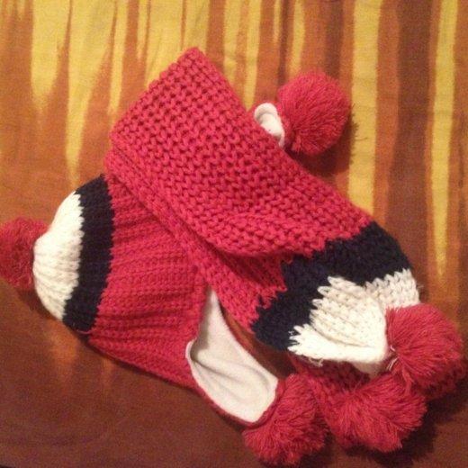 Шапка и шарф. Фото 1. Барнаул.