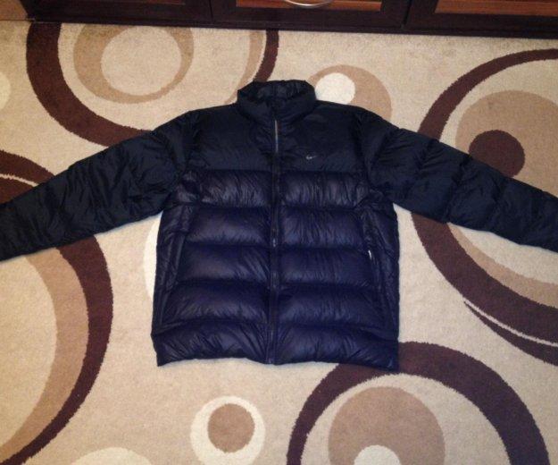 Куртка-пуховик nike оригинал. Фото 1. Калининград.