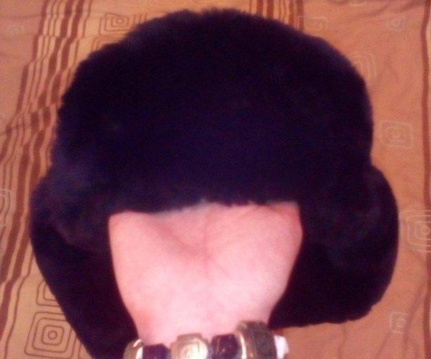 Зимняя ушанка,натуральная. Фото 2. Санкт-Петербург.