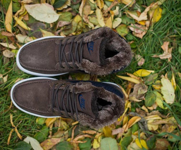 Кроссовки зимние мужские nike. Фото 2.