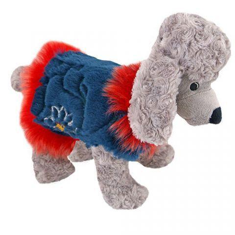 Одежда для собак жилет из меха кролика. Фото 2. Москва.
