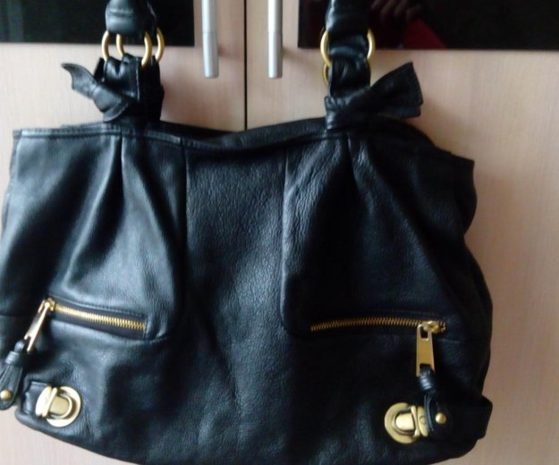 Кожаная сумка. Фото 2. Волжский.