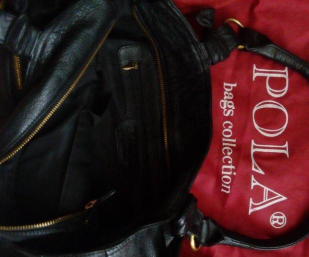 Кожаная сумка. Фото 3. Волжский.