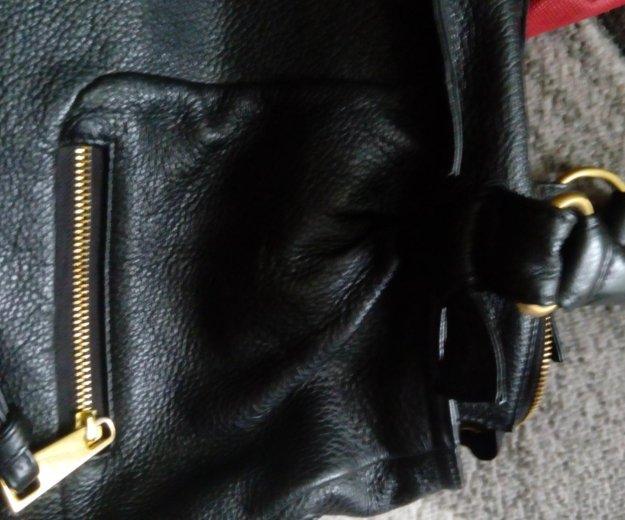 Кожаная сумка. Фото 4. Волжский.