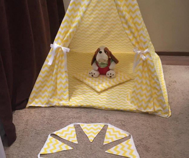 Палатка вигвам. Фото 1. Краснодар.