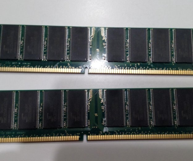 Память kit 2х512 mb ddr400 kingston kvr400x64c3ak2. Фото 2. Санкт-Петербург.