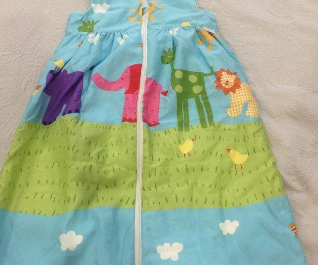 Детский спальный конверт 130 см. Фото 4. Московский.