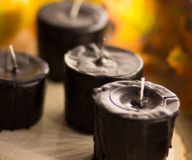 Чёрные свечи ручной работы. Фото 1. Ярославль.