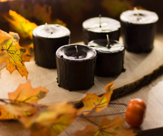 Чёрные свечи ручной работы. Фото 3. Ярославль.