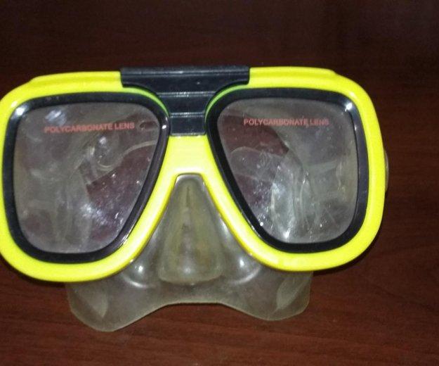 Подводная маска. Фото 1.