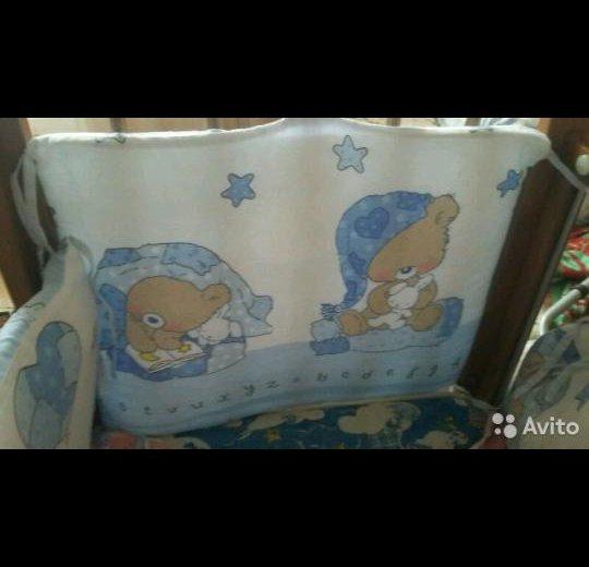 Бортики в детскую кроватку в отличном состоянии. Фото 1. Нижний Новгород.