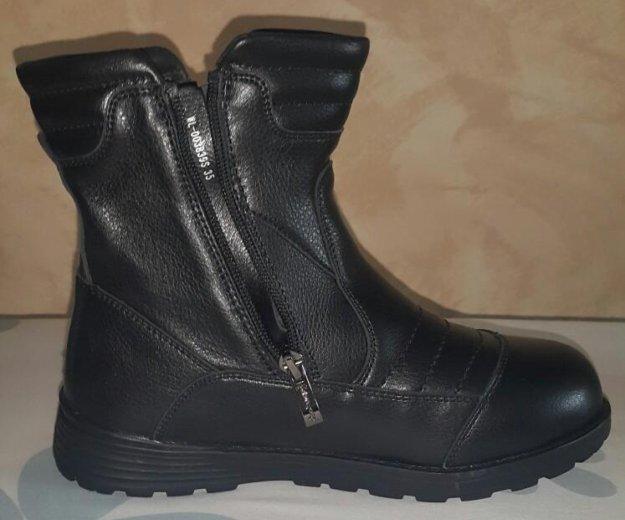 Новые кожаные сапоги.32 размер. Фото 2. Люберцы.