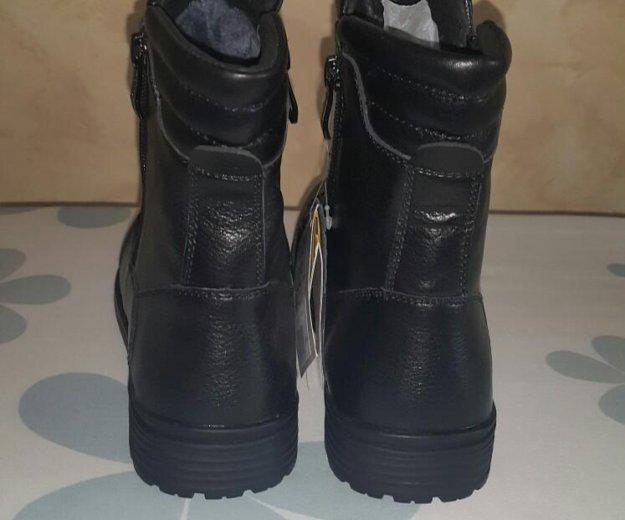 Новые кожаные сапоги.32 размер. Фото 4. Люберцы.