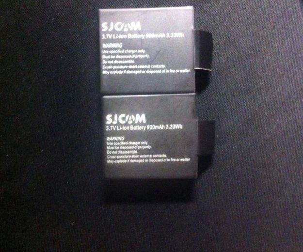 Аккумуляторы для экшн камеры sjcam. Фото 1. Зеленоград.
