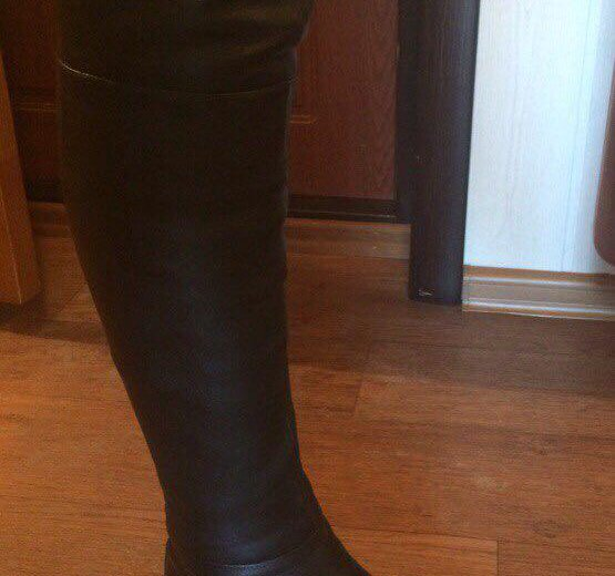 Кожаные зимние сапоги из натуральной кожи. Фото 2. Саратов.