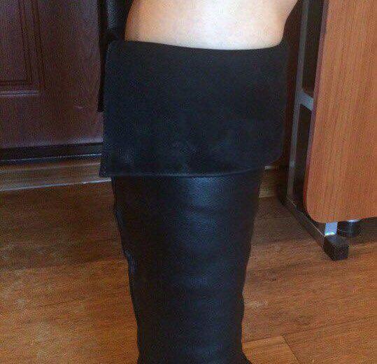 Кожаные зимние сапоги из натуральной кожи. Фото 3. Саратов.
