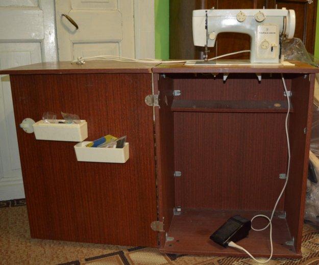 Швейная машинка чайка 142м с электроприводом. Фото 1. Лебедянь.
