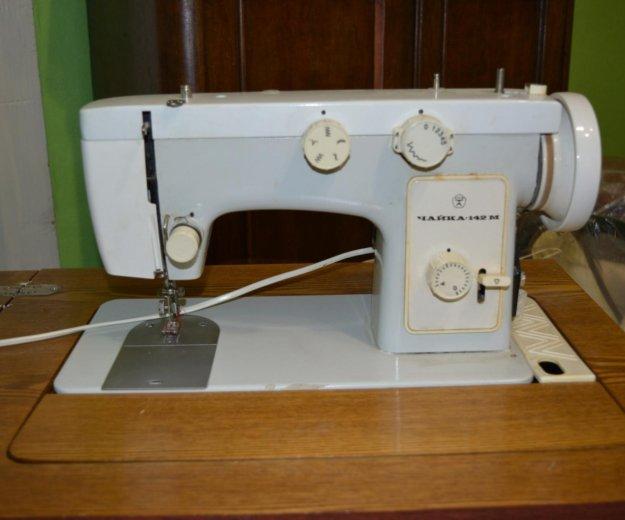 Швейная машинка чайка 142м с электроприводом. Фото 2. Лебедянь.