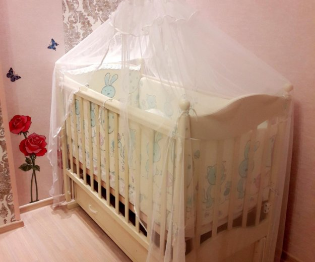 Детская кровать. Фото 1. Селятино.