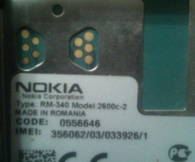 Nokia 2600c-2. Фото 4. Екатеринбург.