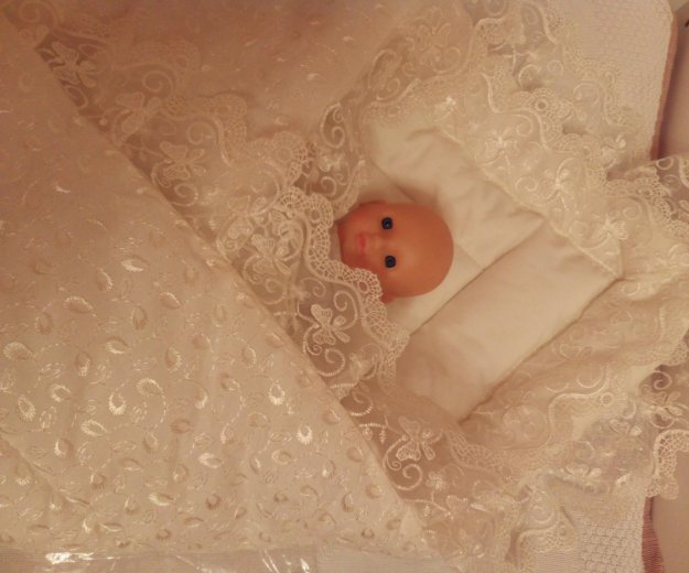 Теплющий зимний конверт-одеяло на выписку. Фото 4. Балашиха.