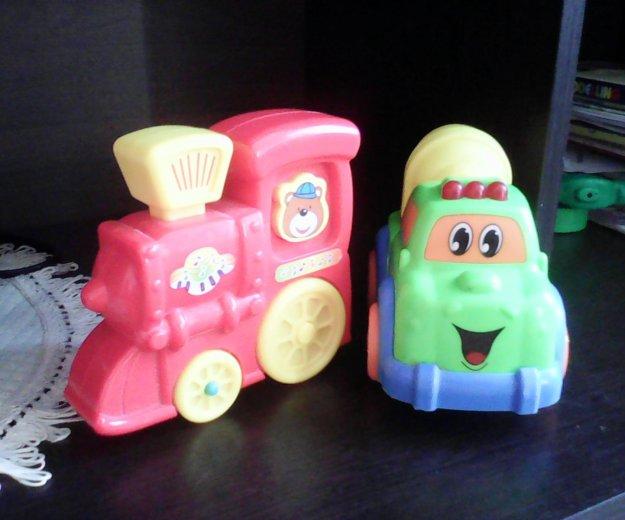 Детский паровозик и машинка. Фото 1. Тюмень.