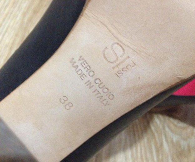 Кожаные туфли итальянской фирмы-vero cuoio. Фото 2. Будённовск.