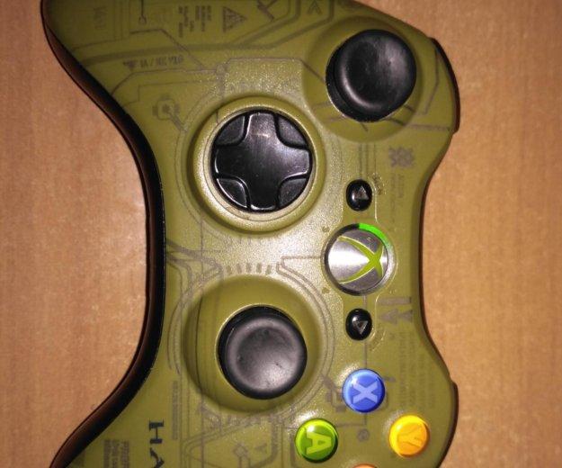 Xbox 360 slim 250 gb + 3 геймпада и штук 30 игр. Фото 2. Москва.