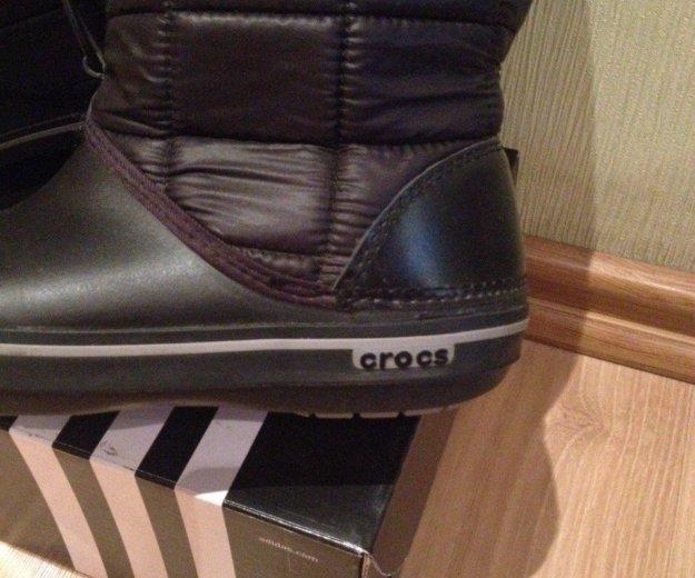 Дутики crocs. Фото 1. Москва.