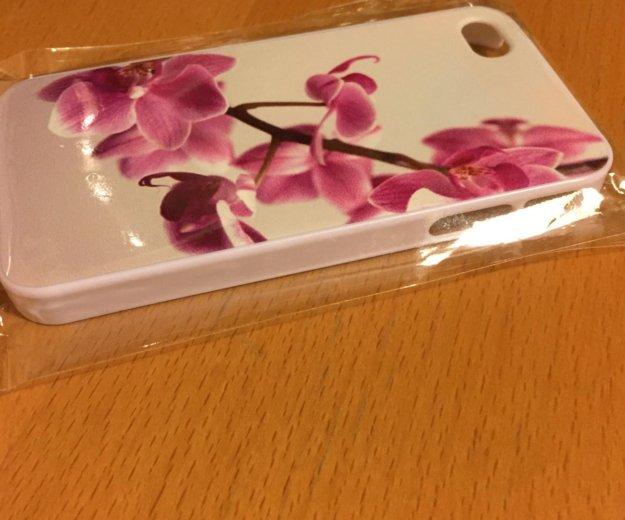 Чехол для iphone 4 и 4s орхидея. Фото 3. Москва.