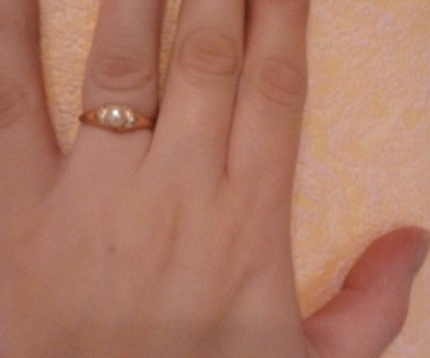 Кольцо золотое 585. Фото 1. Санкт-Петербург.