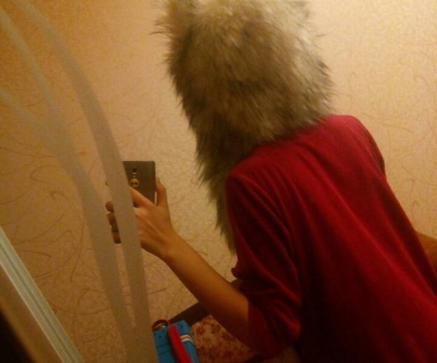 Волкошапка (шапка волк) оригинал. Фото 3. Москва.