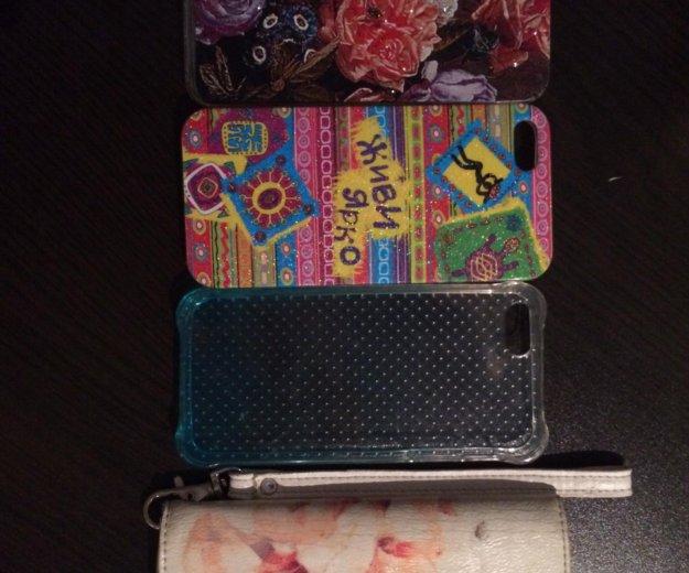 Чехлы на iphone 📱 5/5s. Фото 1. Челябинск.