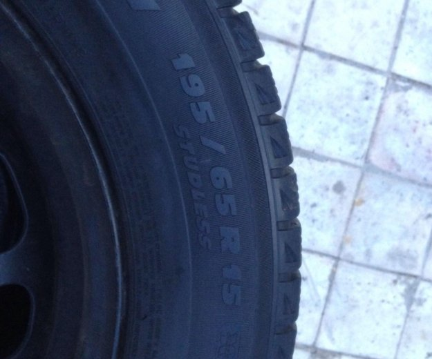 Michelin x-ice 195/65r15. Фото 1. Щёлково.