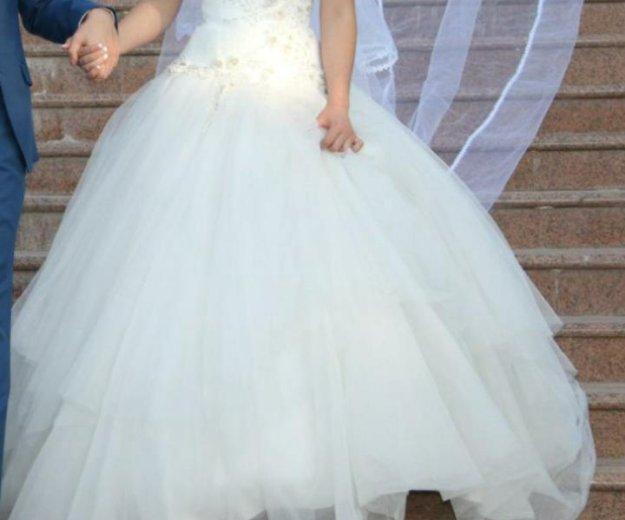 Свадебное платье. Фото 2. Люберцы.