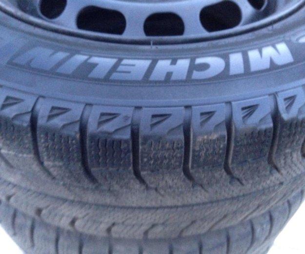 Michelin x-ice 195/65r15. Фото 2. Щёлково.