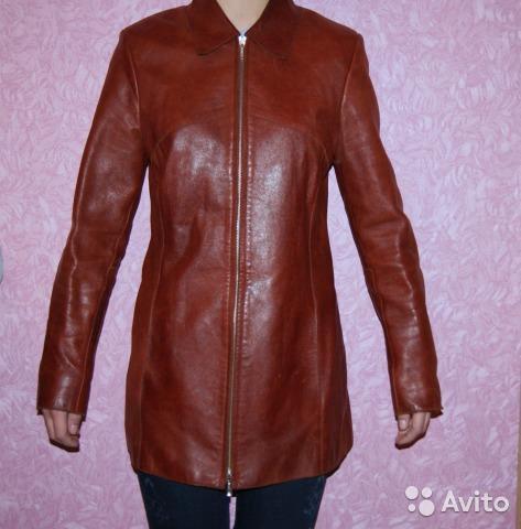 Куртка женская (натуральная кожа), р. 42-44. Фото 2. Санкт-Петербург.