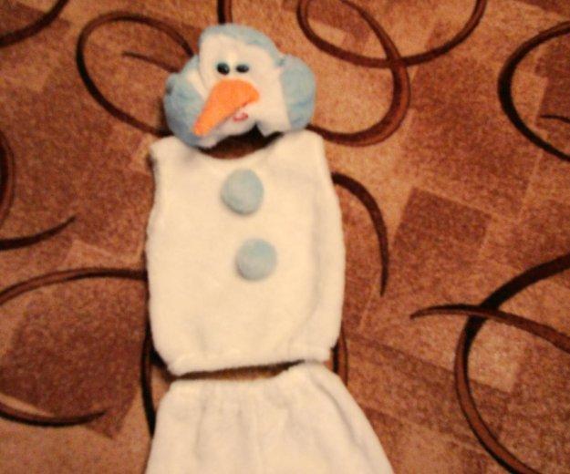 Детский новогодний костюм снеговика. Фото 1. Серпухов.