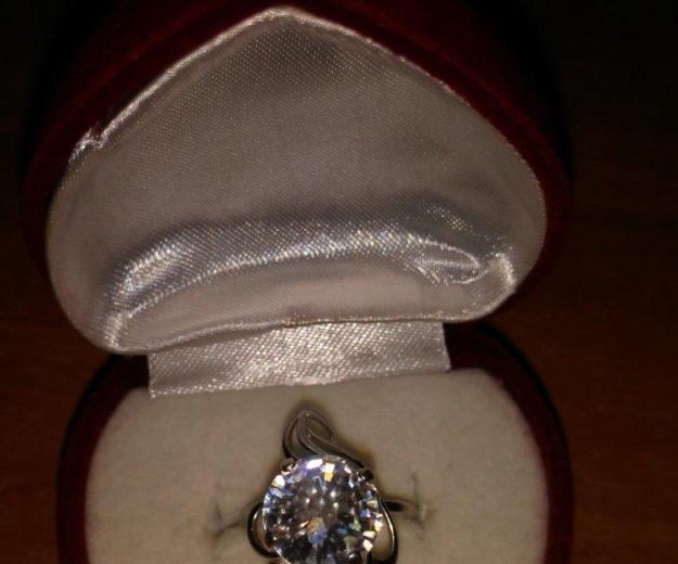 Серьги кольцо фианит. Фото 3. Обнинск.
