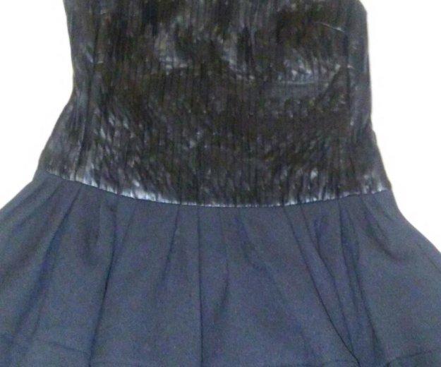 Платье нат кожа. Фото 2. Долгопрудный.