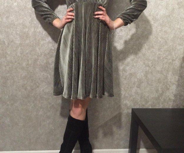 Платье велюровое. Фото 2. Новотитаровская.