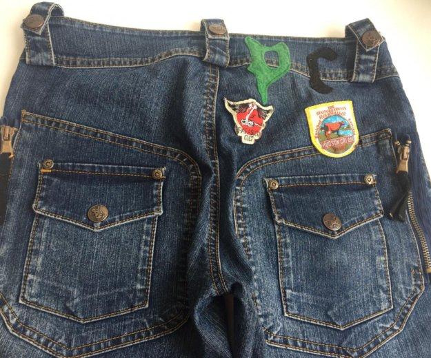 Укорочённые джинсы-бриджи. Фото 3. Ростов-на-Дону.