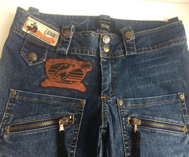 Укорочённые джинсы-бриджи. Фото 2. Ростов-на-Дону.