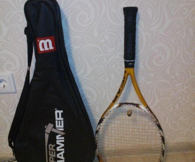Ракетка для большого тенниса с чехлом. Фото 1. Санкт-Петербург.